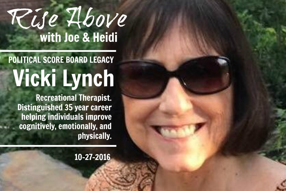 Rise Above with Joe & Heidi 2016-10-27 Vicki Lynch