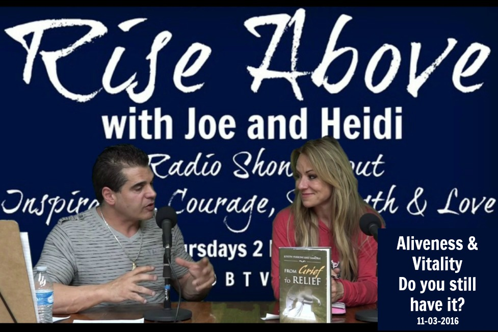 Rise Above with Joe & Heidi 2016-11-03 ​​Aliveness and Vitality